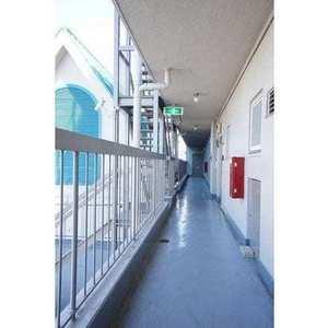 ハイツ太子堂(3階,)のフロア廊下(エレベーター降りてからお部屋まで)