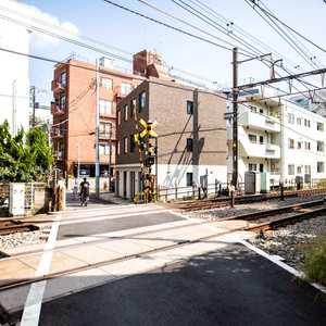 セレニティ参宮橋の最寄りの駅周辺・街の様子