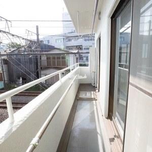 セレニティ参宮橋(2階,4980万円)のバルコニー