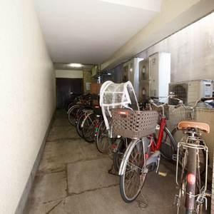 恵比寿ガーデンの駐輪場