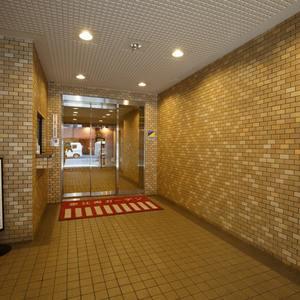 恵比寿ガーデンのマンションの入口・エントランス