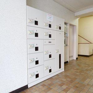 目白が丘マンションのマンションの入口・エントランス