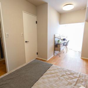 目白が丘マンション(5階,4980万円)の洋室