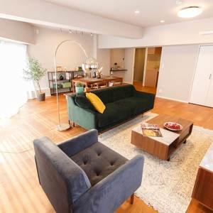目白が丘マンション(5階,4980万円)の居間(リビング・ダイニング・キッチン)