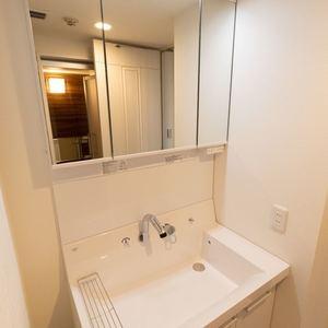 上野毛南パークホームズ(1階,4990万円)の化粧室・脱衣所・洗面室