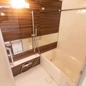 上野毛南パークホームズ(1階,4990万円)の浴室・お風呂