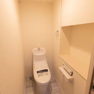 上野毛南パークホームズ(1階,4990万円)のトイレ