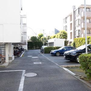 二子玉川ロイヤルマンションの駐車場