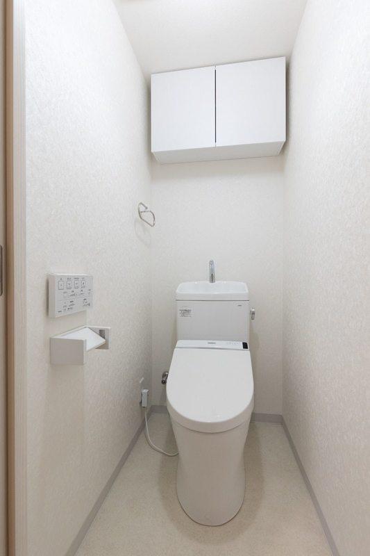 二子玉川ロイヤルマンション4580万円のトイレ1枚目