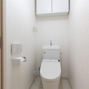 二子玉川ロイヤルマンション(1階,4580万円)のトイレ