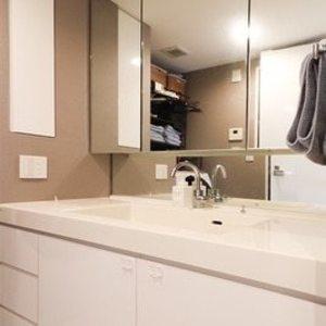 シティタワー上野池之端(19階,7150万円)の化粧室・脱衣所・洗面室