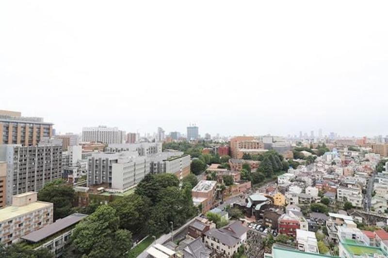 シティタワー上野池之端7150万円のお部屋からの眺望1枚目