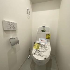 ライオンズマンション亀戸カナメビル(8階,)のトイレ
