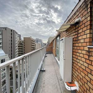 ライオンズマンション亀戸カナメビル(8階,)のバルコニー