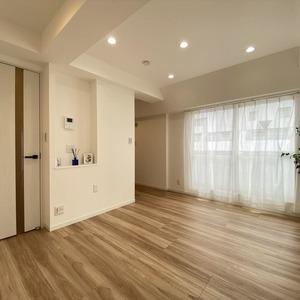 ライオンズマンション亀戸カナメビル(8階,)の居間(リビング・ダイニング・キッチン)