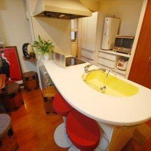 グリーンパーク銀座デプレ(10階,5250万円)の居間(リビング・ダイニング・キッチン)