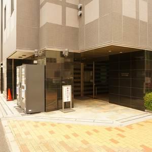 サンクタス銀座のマンションの入口・エントランス