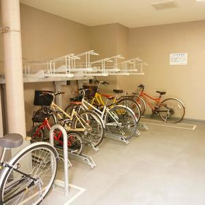 サンクタス銀座の駐輪場