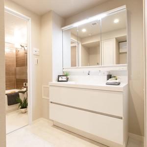 朝日マンション新中野(6階,7980万円)の化粧室・脱衣所・洗面室