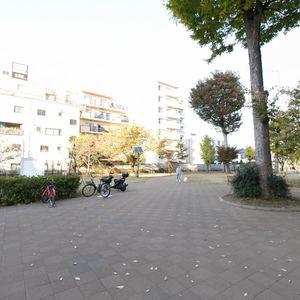朝日マンション新中野の近くの公園・緑地