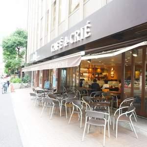 サンクタス銀座のカフェ