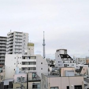 グラントレゾール浅草(6階,)のお部屋からの眺望