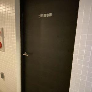 ランドステージ墨田ブライトスクエアのごみ集積場