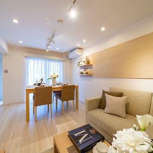 セザール上野毛ガーデン(4階,4480万円)の居間(リビング・ダイニング・キッチン)