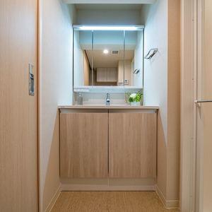 セザール上野毛ガーデン(4階,4480万円)の化粧室・脱衣所・洗面室