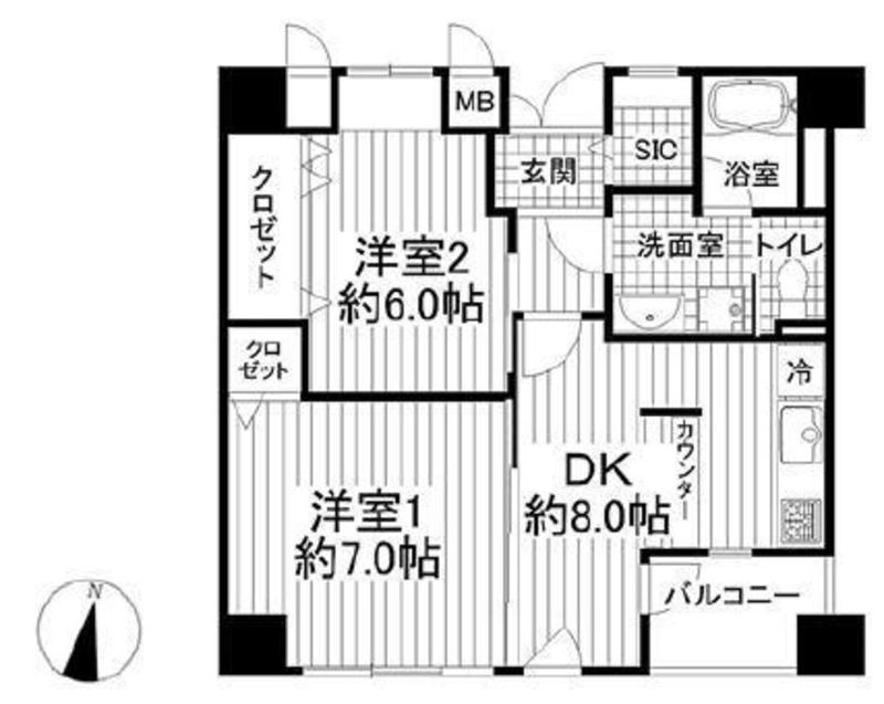 神田小川町ハイツ5299万円