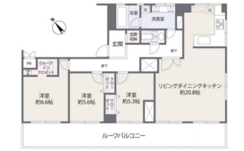 目黒ロイヤルハイツ8980万円