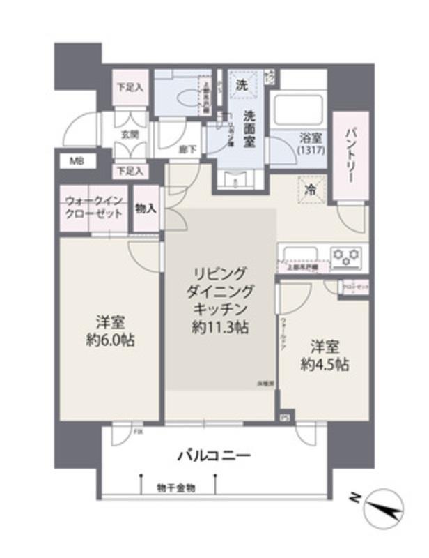 ブリリア東中野ステーションフロント6300万円