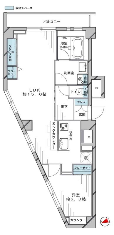 中銀南青山マンシオン4090万円