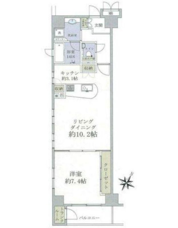 グリーンパーク銀座デプレ5250万円