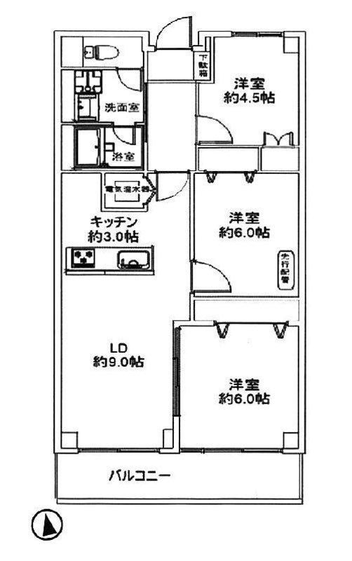 恒陽千石マンションB棟3280万円
