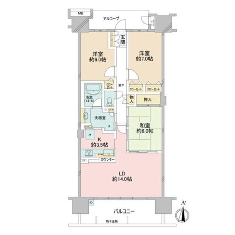 東京フロンティアシティパーク&パークス5180万円