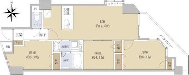 藤和シティホームズ阿佐ヶ谷駅前7480万円