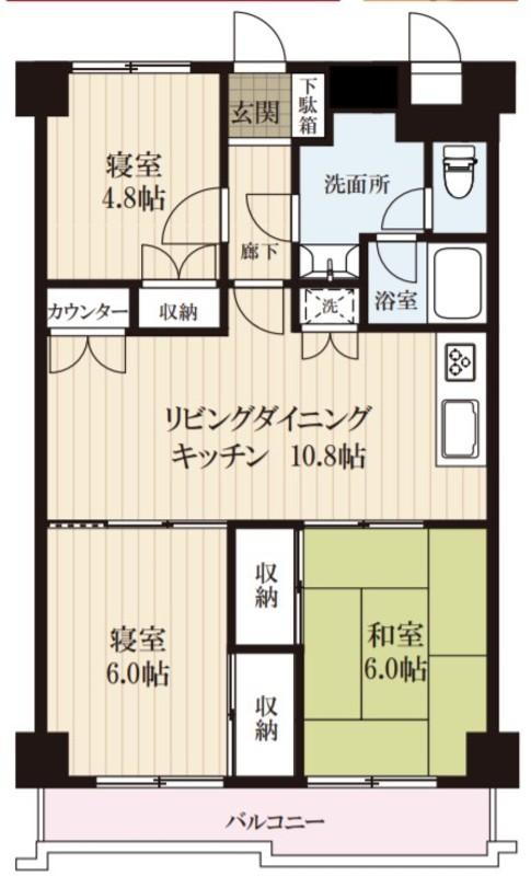 ジュネシオン小名木3580万円