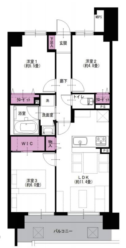 ライオンズマンション大鳥居第24290万円