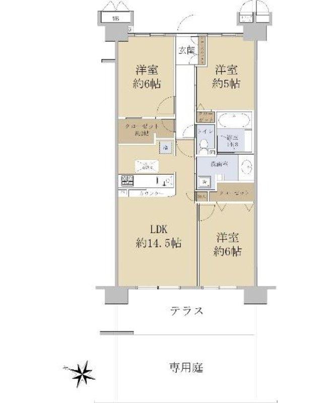 テンガメイツ西台4290万円