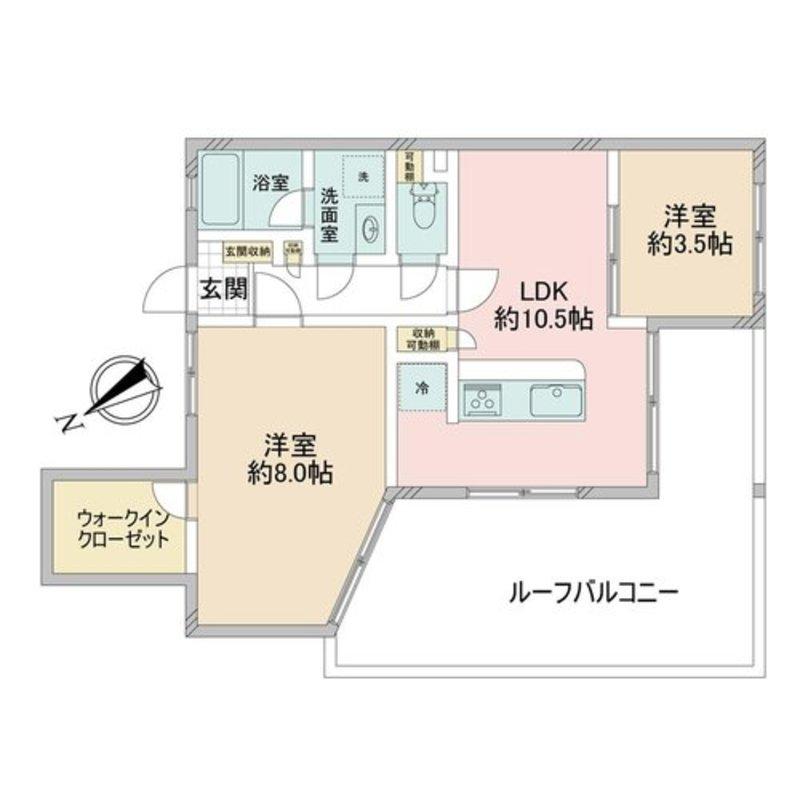 ワールドパレス大井仙台坂35998万円