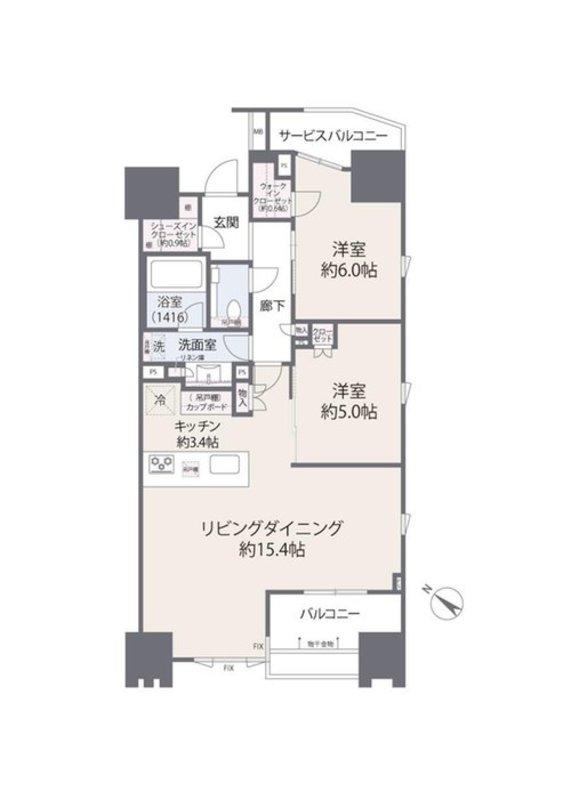 ザ・マジェスティコート目黒9380万円