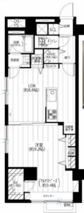 文京区春日春日タウンホーム2999万円の間取り図