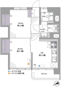 新宿区下落合高田馬場住宅3099万円の間取り図