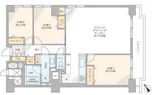 渋谷区代々木ソフトタウン代々木の間取り図