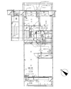 墨田区横川プリメール柳島4880万円の間取り図