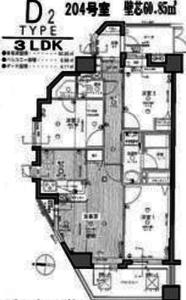 板橋区南町レクセルマンション要町4380万円の間取り図