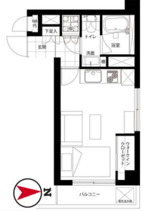 中野区中央ライオンズマンション中野坂上の間取り図