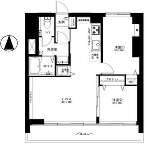 文京区目白台目白台コーポ3299万円の間取り図